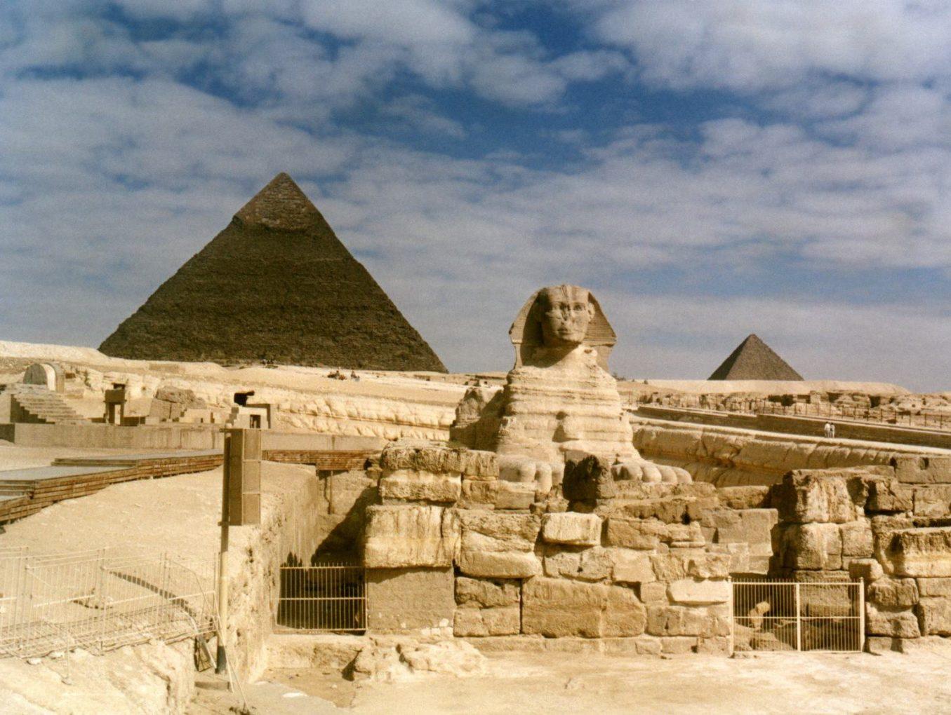 Пирамиды в Гизе «очистят» от уличной торговли