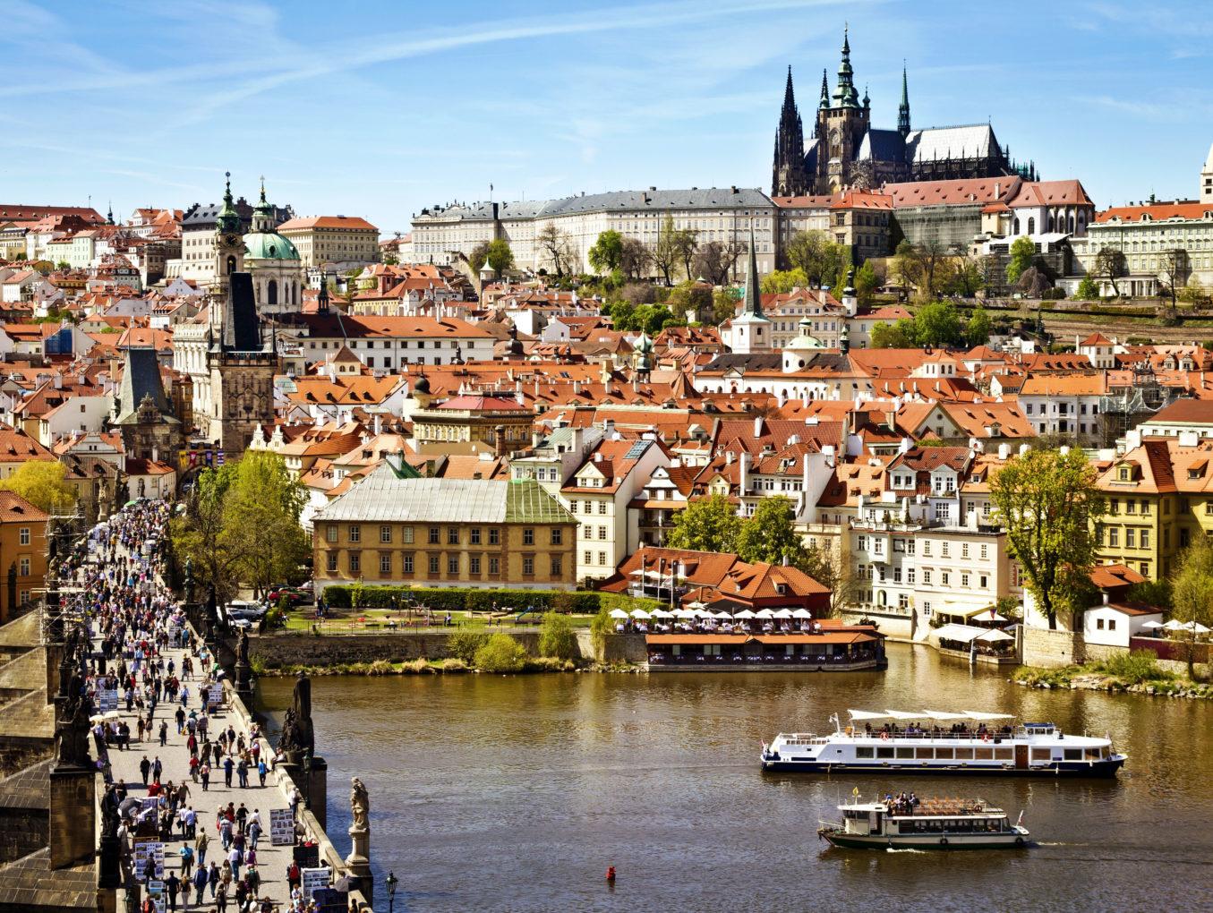 Пивной катер появится в Праге