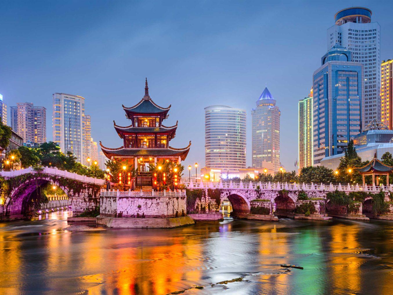 Конец января в Китае обещает быть жарким