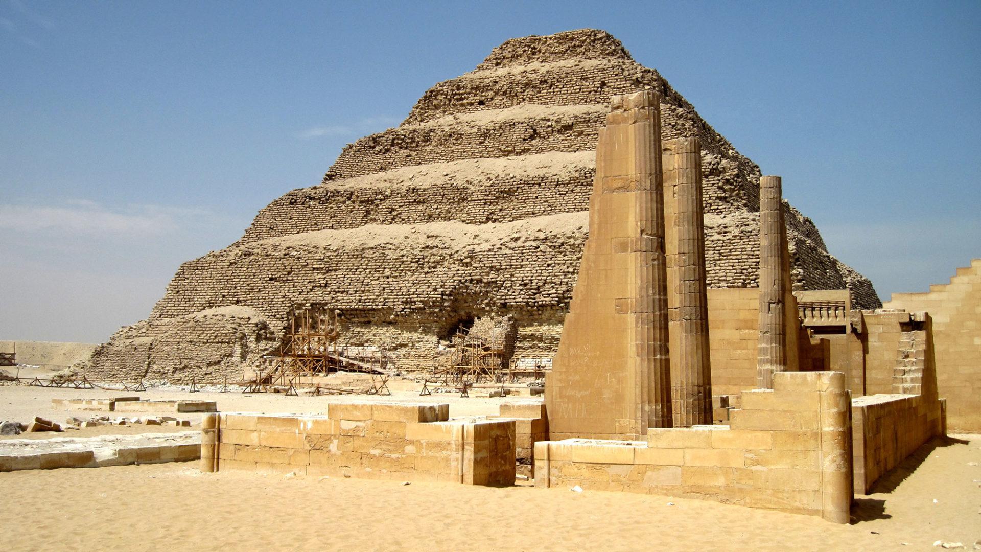В Египте открылась пирамида Джосера