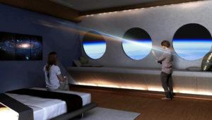 В космосе появится первый пятизвездочный отель с искусственной гравитацией